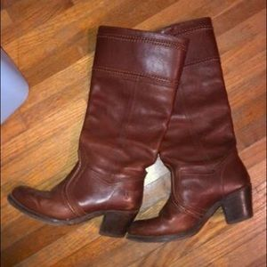 Frye Jane Extended Calf boots
